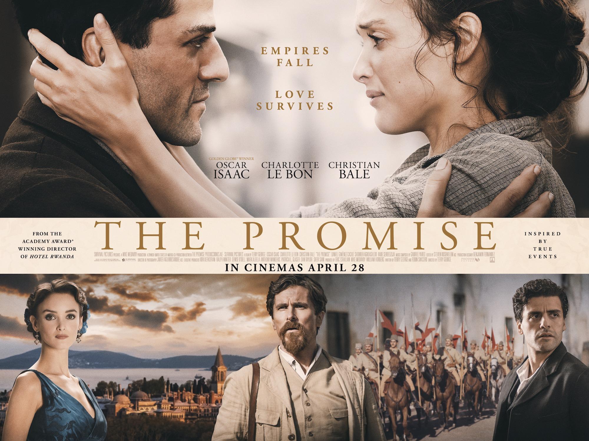 «La Promesse» de Terry George: une incroyable histoire au cœur du génocide arménien [critique]