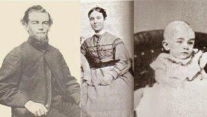 Le capitaine Benjamin Briggs, son épouse et sa jeune fille de deux ans ayant tous les trois disparu en mer