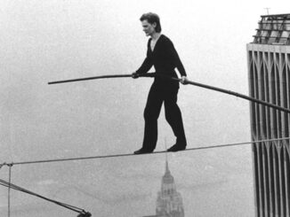 Philippe Petit: the incredible high-wire artist who crossed the Twin Towers on a cable