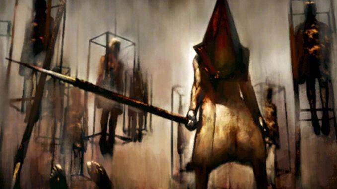 Jour de brume, restes du Jugement : Tableau présent au musée Silent Hill Historical Society, représentant Pyramid Head et la cérémonie d'exécution à la prison Toluca.