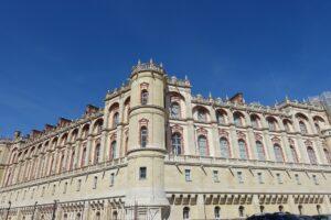Vue d'une partie du château de Saint-Germain-en-Laye
