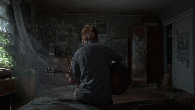 Ellie dans The Last of Us Part II.