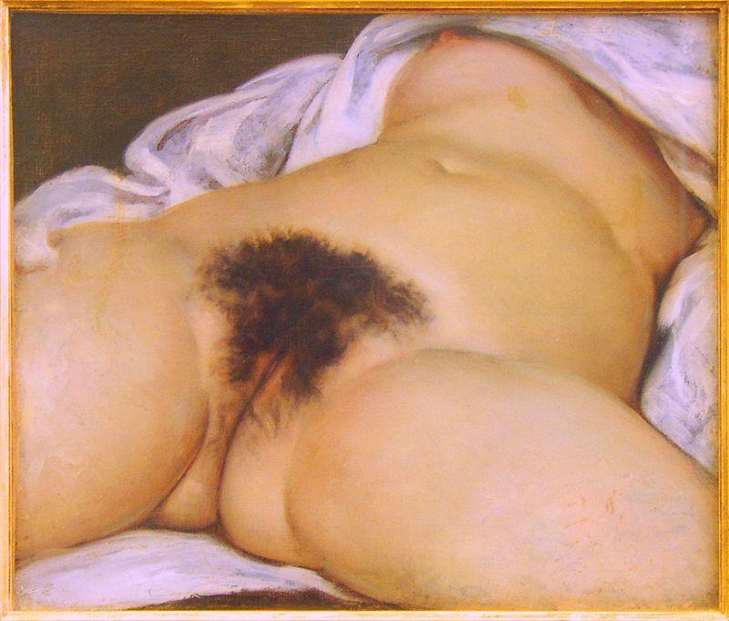 Œuvre d'art : L'Origine du monde, Gustave Courbet.