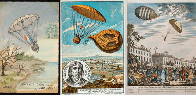 22 octobre 1797 : premier saut en parachute de l'histoire !