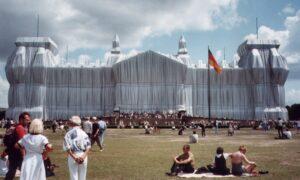 Reichstag emballé par Christo