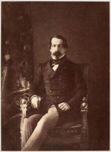 Le prince-président Louis-Napoléon Bonaparte en 1852