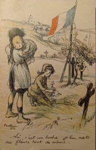 Dessin de Poulbot - 1915