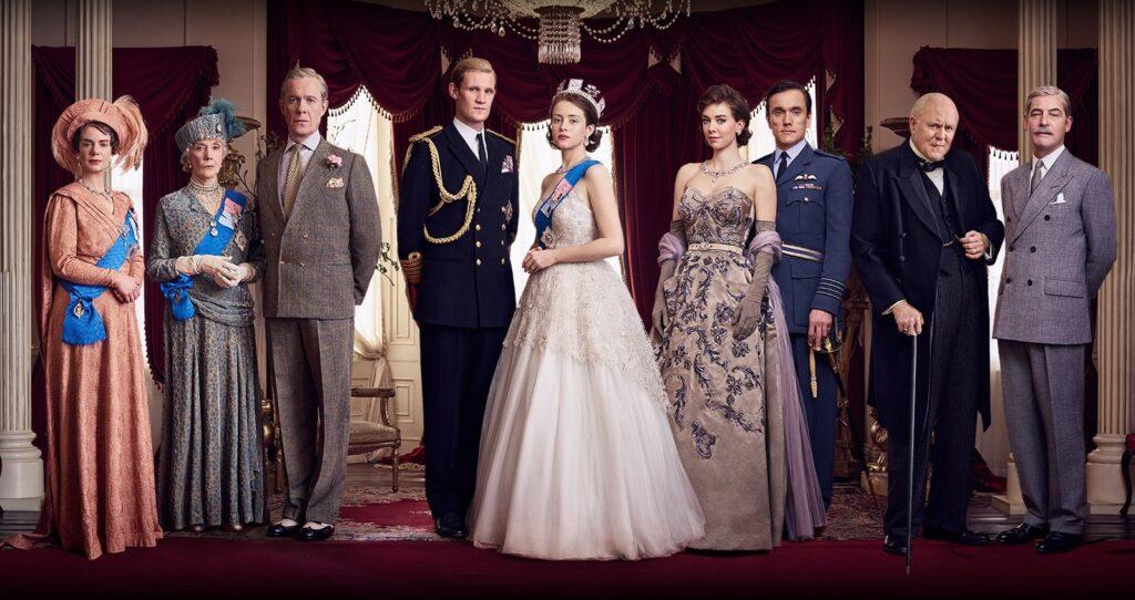 Casting des deux premières saisons de The Crown sur Netflix.