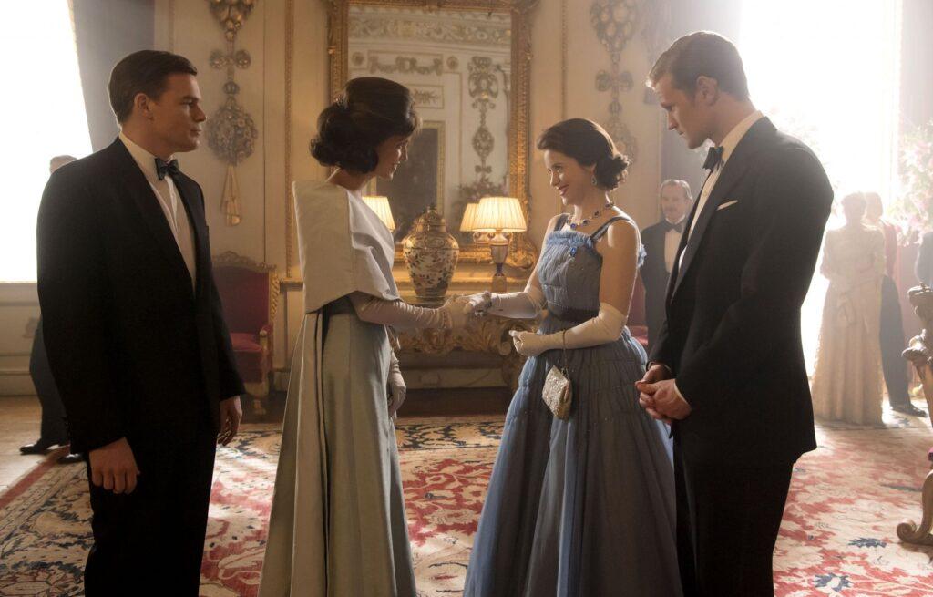 """Image de l'épisode 8 de la saison 2 de The Crown : """"Chère Madame Kennedy"""""""