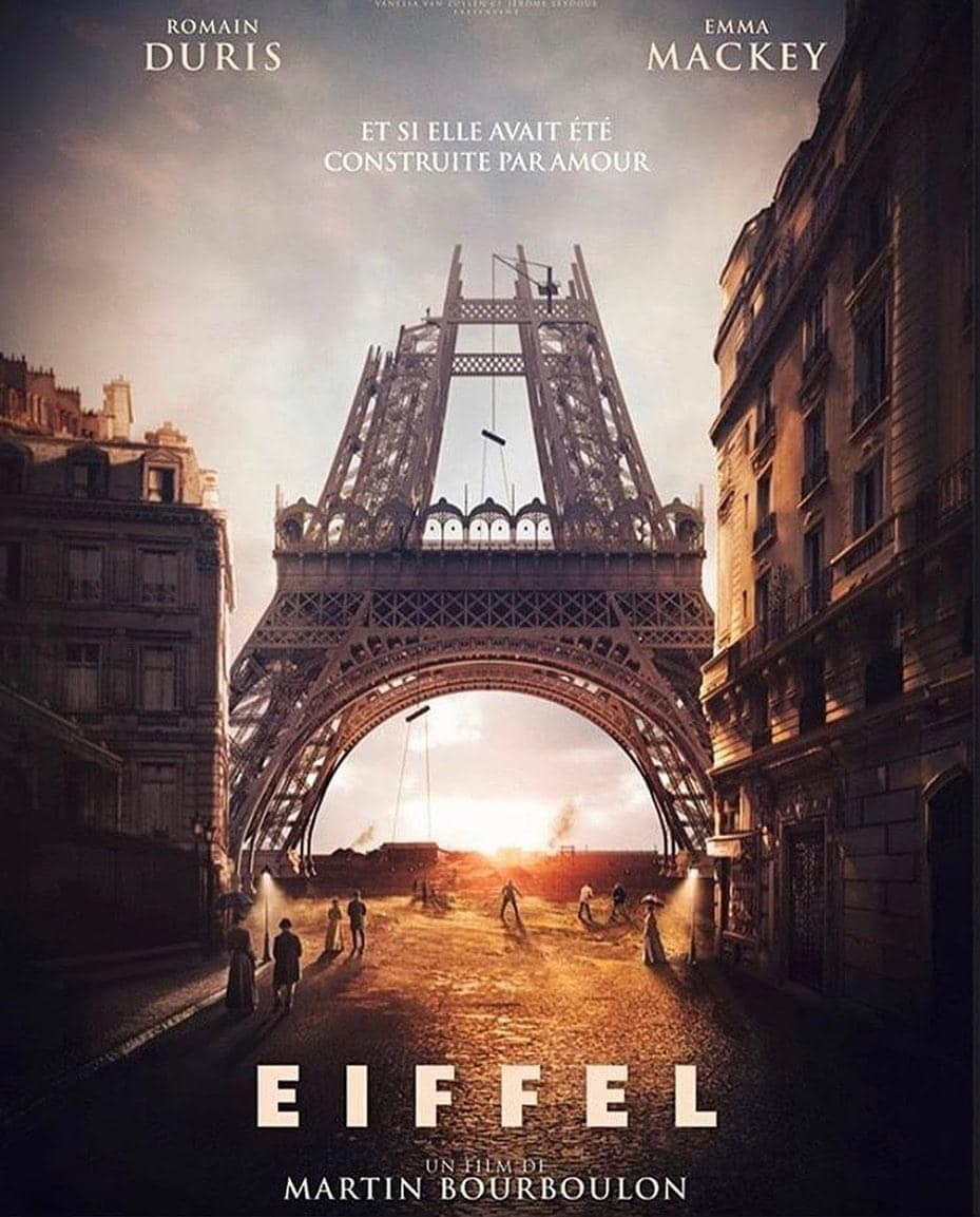 """Eiffel"""" : l'affiche du film avec Romain Duris se dévoile !"""