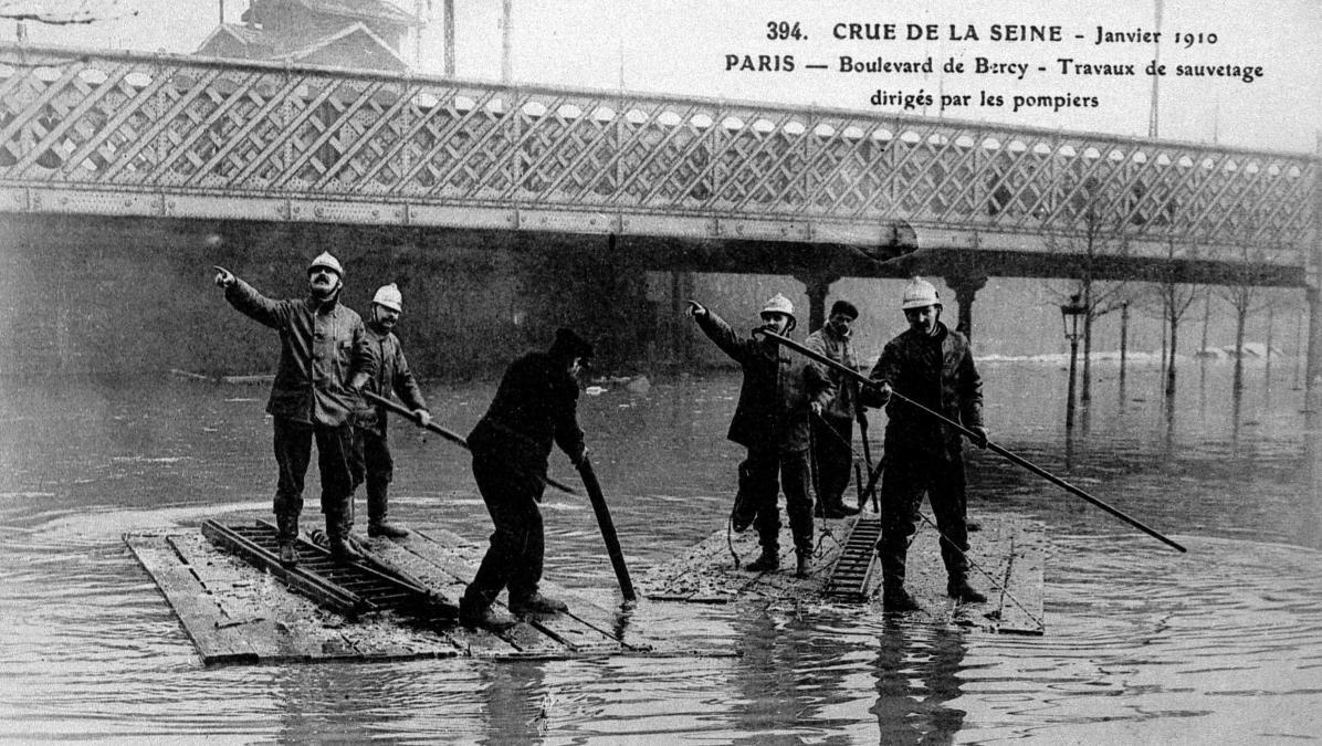 Et l'eau ne cesse de monter... La crue de 1910 qui marqua l'Histoire
