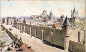 Paris disposait d'imposants remparts au Moyen Âge - Cultea