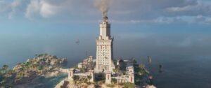 Le phare d'Alexandrie, représenté dans le jeu Assassin's Creed Origins - Cultea