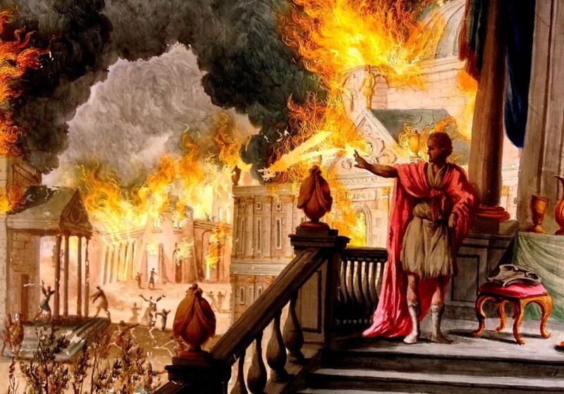 Néron a-t-il vraiment provoqué le grand incendie de Rome ?