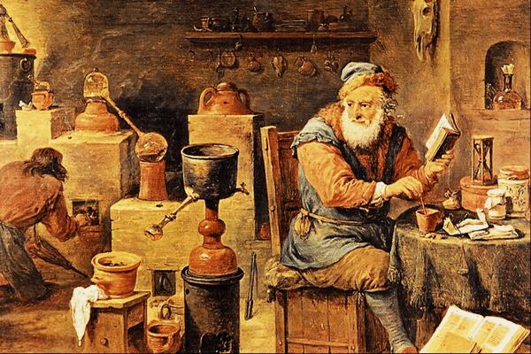 La langue des oiseaux : le langage des alchimistes ?