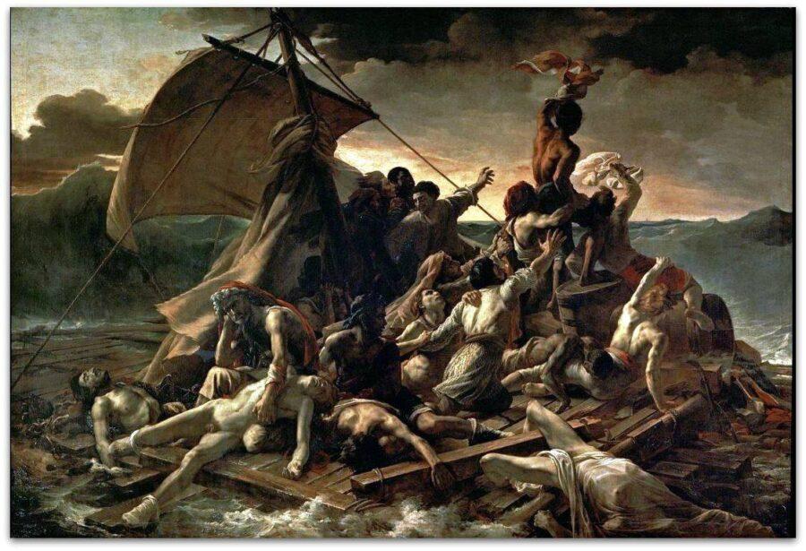 """L'horrible histoire derrière """"Le Radeau de la Méduse"""" de Théodore Géricault - Cultea"""