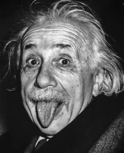 Puisqu'on vous dit qu'Albert Einstein avait un tempérament joyeux... - Cultea