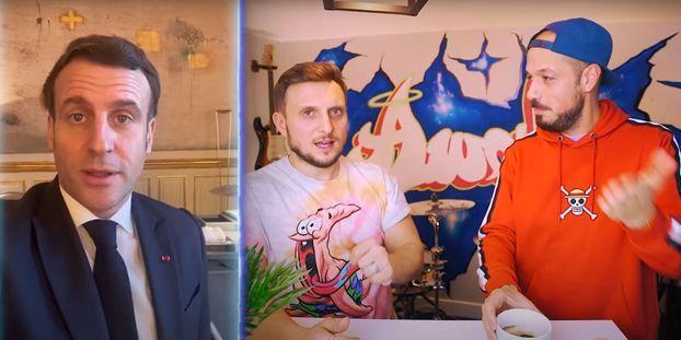 YouTube : Le président de la République devant les caméras de McFly et Carlito ?