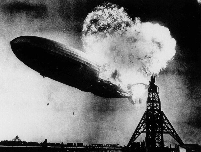Et le ciel s'enflamma... Le crash mémorable de l'Hindenburg - Cultea