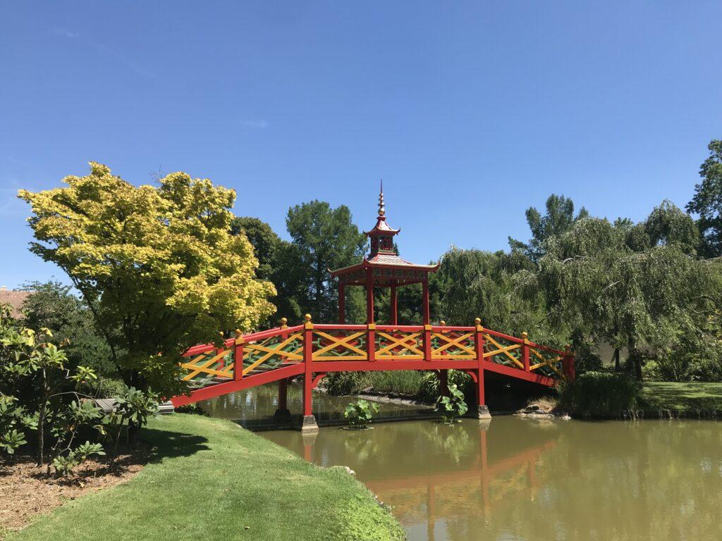 Le Pont-Pagode du Parc Floral d'Apremont-sur-Allier - Cultea