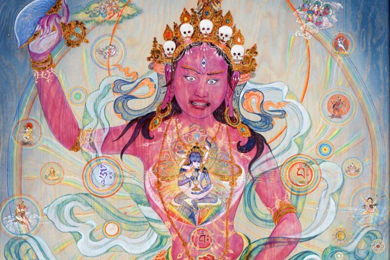Qu'est-ce que la dakini, divinité féminine hindouiste et bouddhiste ?