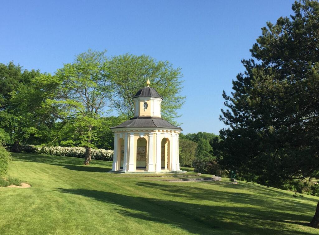 Le belvédère du Parc Floral d'Apremont-sur-Allier - Cultea