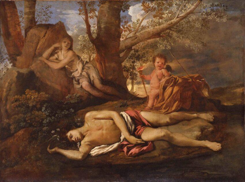 """L'histoire de Narcisse et Echo, des """"Métamorphoses"""" d'Ovide - Cultea"""