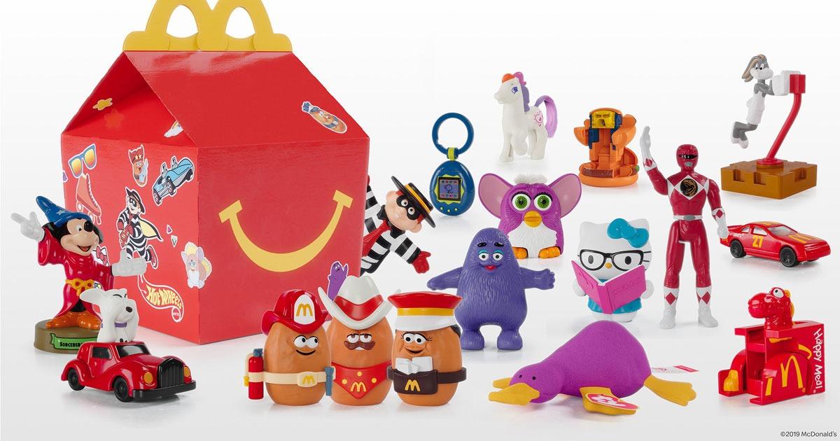"""""""Happy Meal"""" : quelle histoire se cache derrière les jouets de McDonald's ?"""