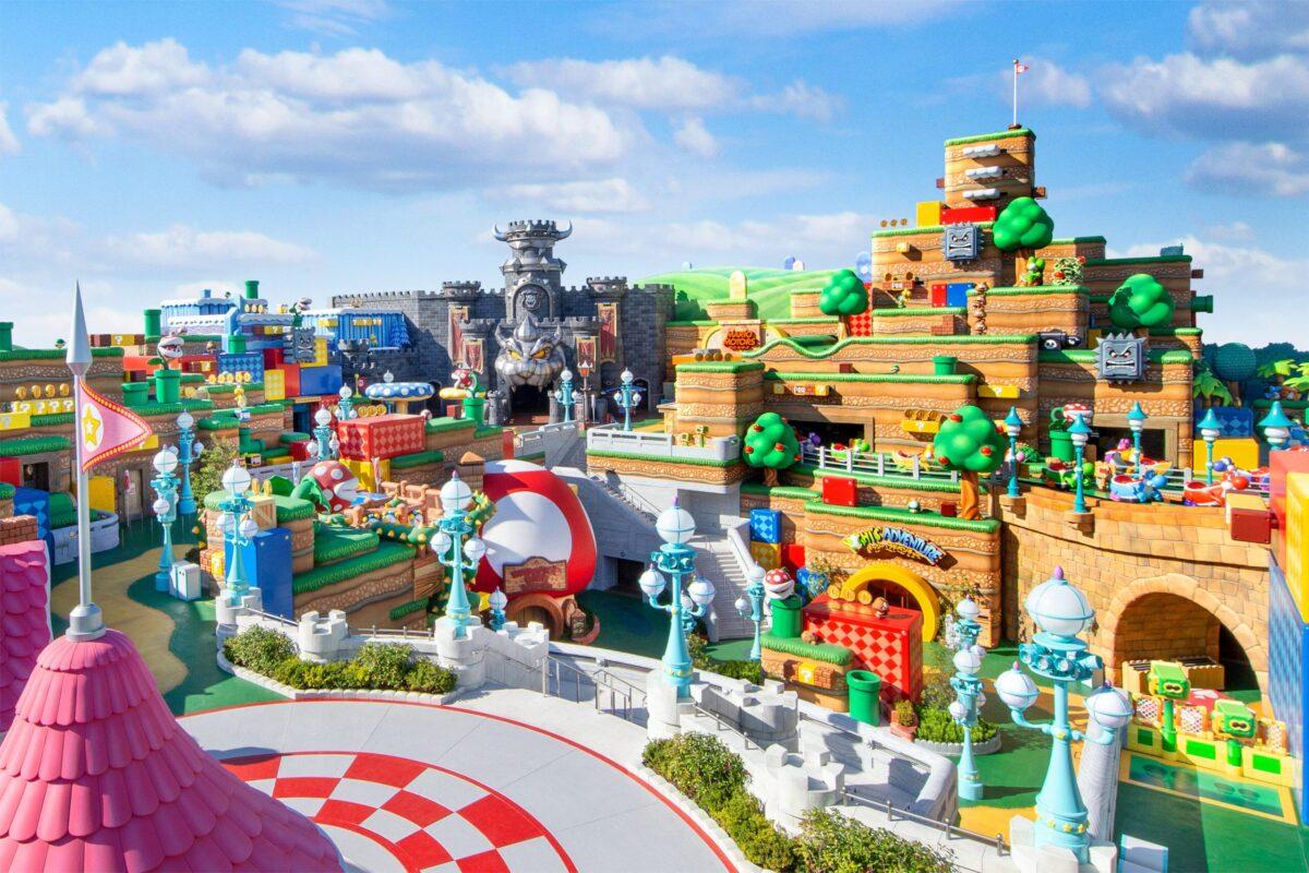 Nintendo World : le land au parc Universal d'Osaka ouvre ses portes ! - Cultea