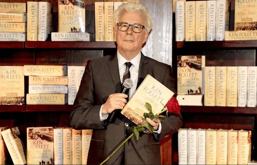 Ken Follett : l'auteur fait un don en faveur d'un monument français ! - Cultea