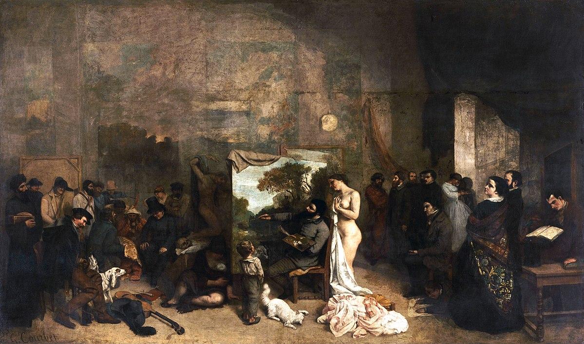 Quand Baudelaire faisait effacer sa muse d'un tableau de Courbet !