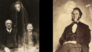 La photographie spectrale fut un des nombreux canulars utilisant les croyances envers des revenants. - Cultea