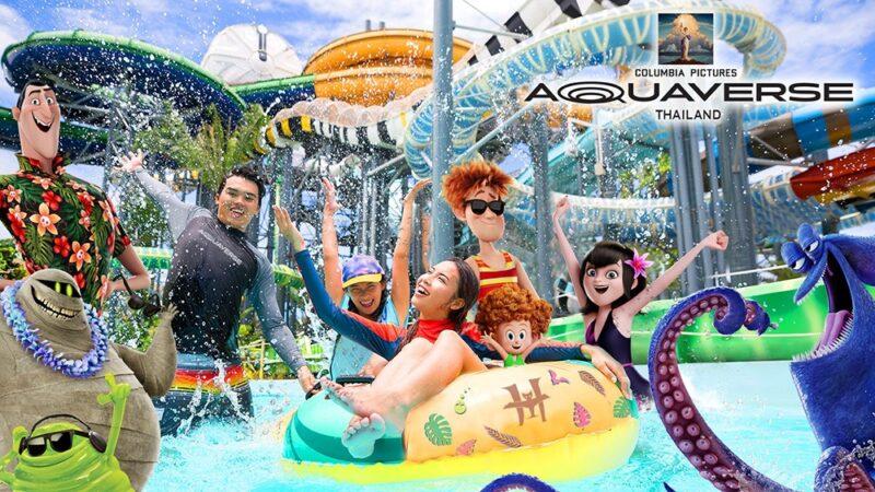 """Aquaverse"" : un parc aquatique dédié à l'univers des films Columbia !"