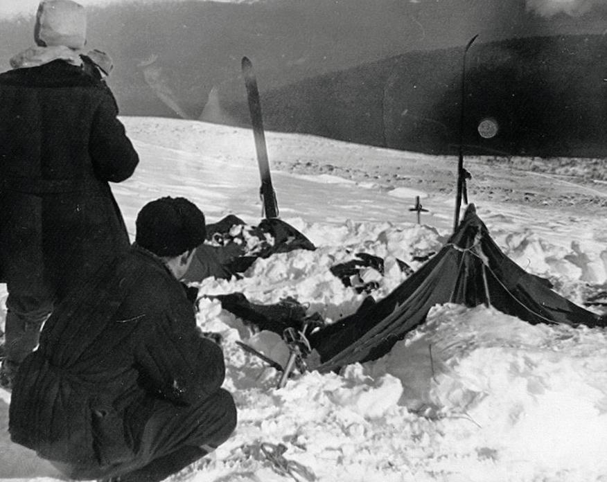 Découverte de la tente des randonneurs le 26 février 1959 - Cultea