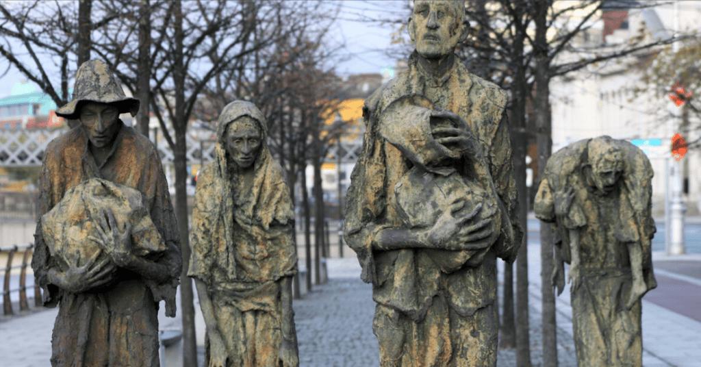 Famine Mémorial - Cultea