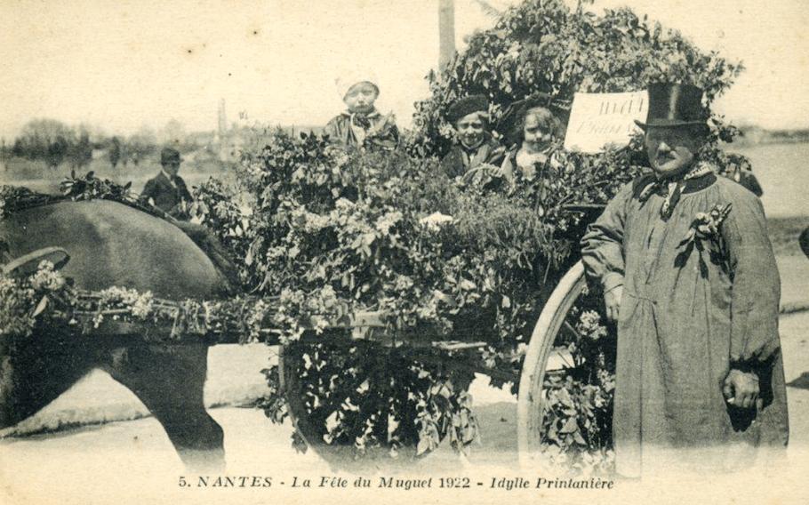 Fête du muguet à Nantes en 1922 - Cultea