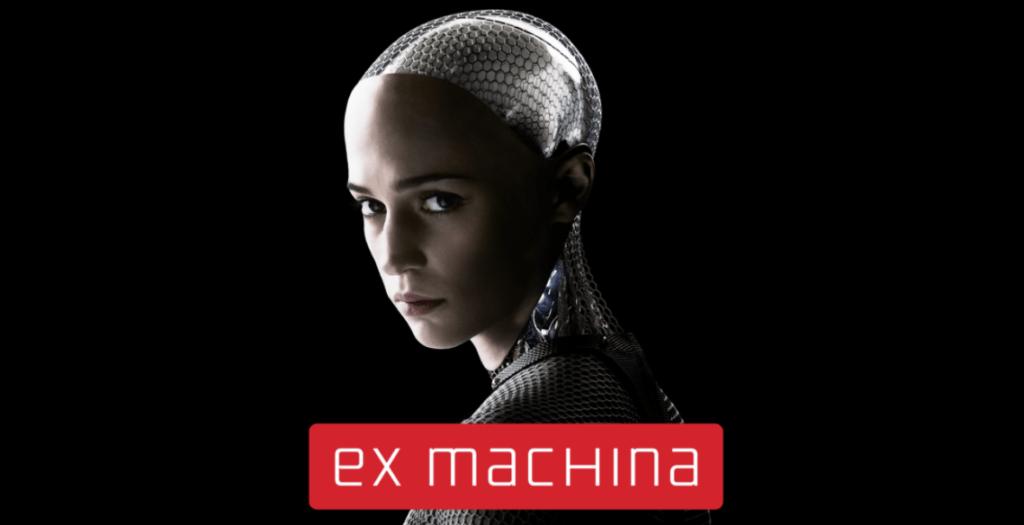 Alicia Vikander interprète le rôle de l'I.A. Ava dans le film Ex Machina - Cultea