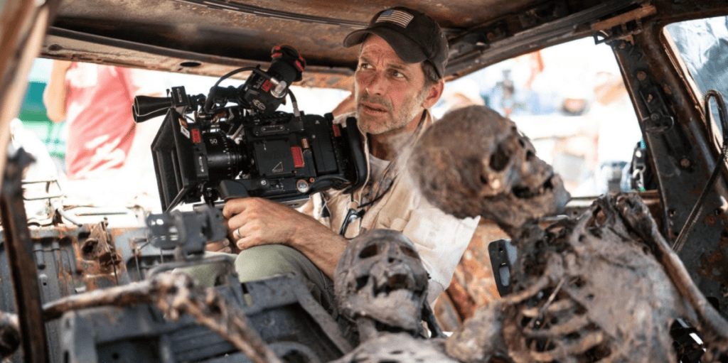 Zack Snyder sur le tournage de Army of the Dead - Cultea