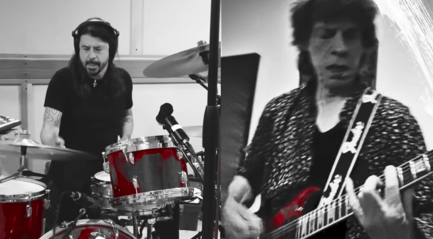 """Mick Jagger et Dave Grohl nous livrent un explosif """"Eazy Sleazy"""" ! - Cultea"""