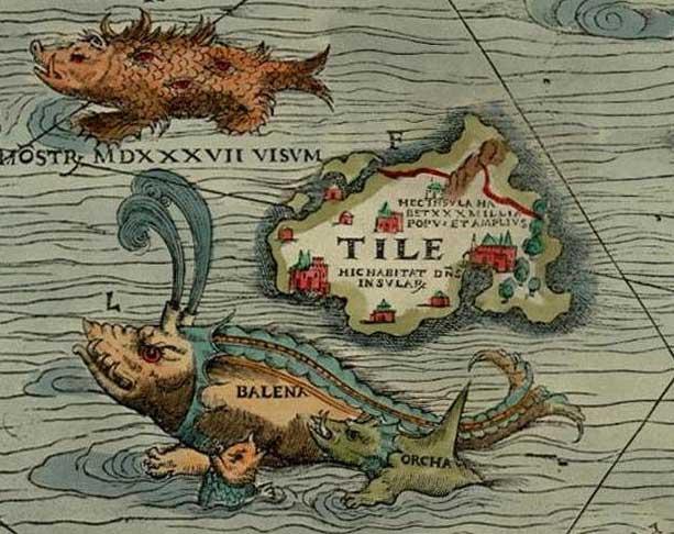 Représentation de l'île de Thulé - Cultea
