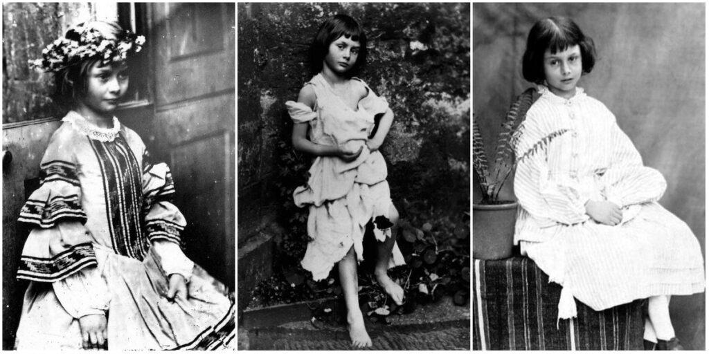 Alice Liddell, photographiée par Lewis Carroll - Cultea