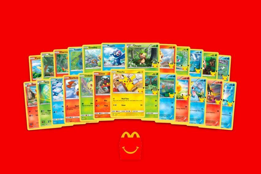 Les cartes Pokémon sont de retour dans les Happy Meal de McDonald's ! - Cultea