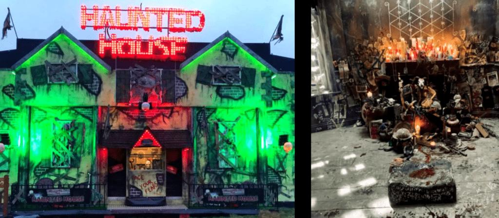 Les décors du film transcrivent une ambiance mixant vaudou et festival horrifique - Cultea