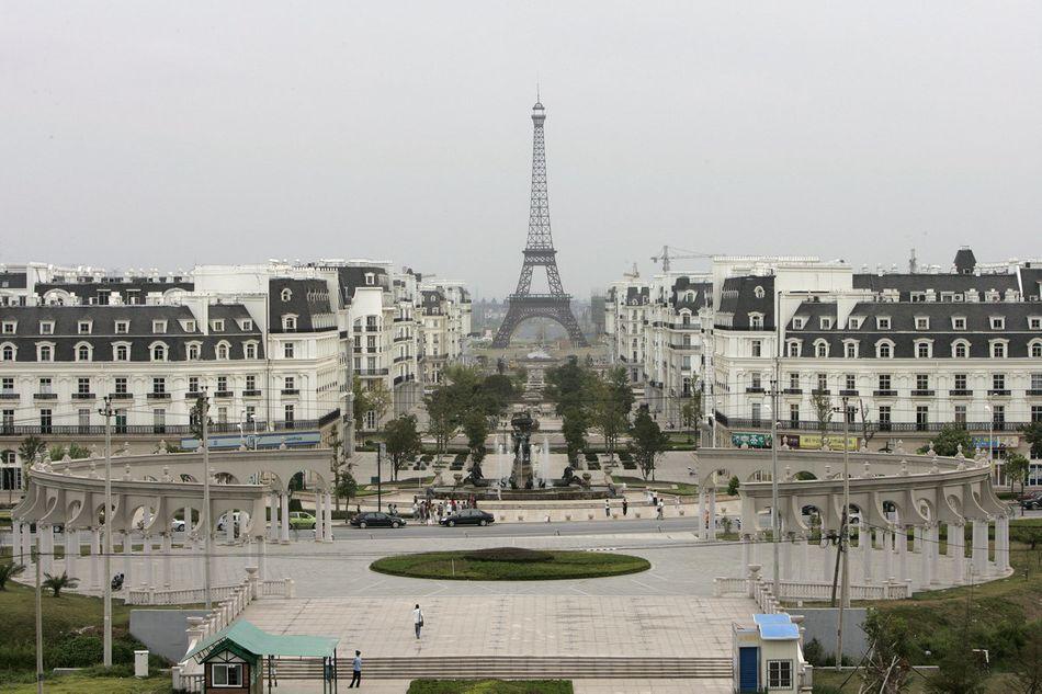 Découvrez la reproduction partielle de Paris... en Chine ! - Cultea
