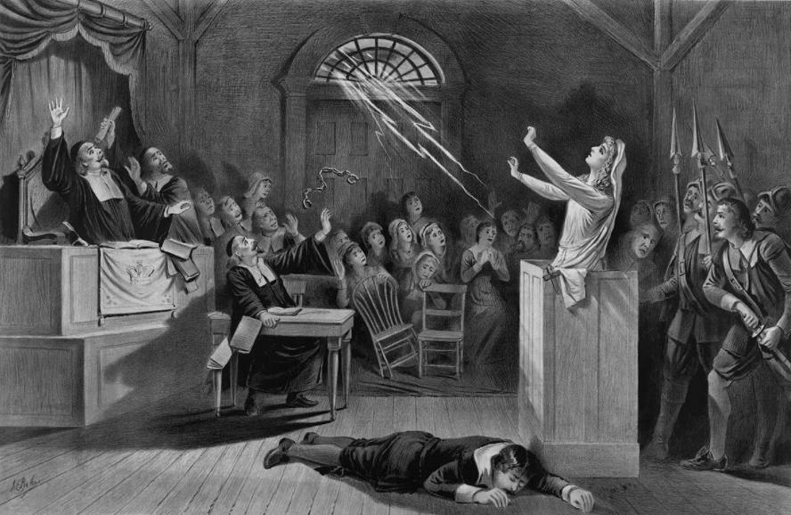 Les procès de Salem de 1692 : quand la justice devint hystérique - Cultea