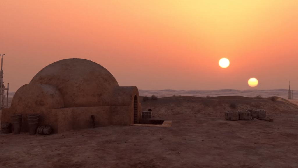 Coucher de soleil binaire sur Tatooine - Cultea