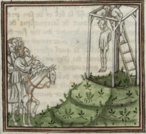 pendaison au Moyen-Âge - Cultea