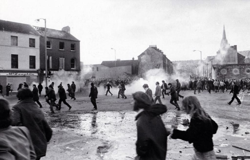 Les manifestants du Bloody Sunday en Irlande du Nord - Cultea