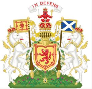 Armoiries d'Écosse avant 1603 - Cultea