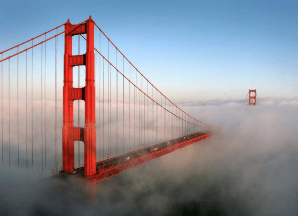 brouillard du pont du Golden Gate
